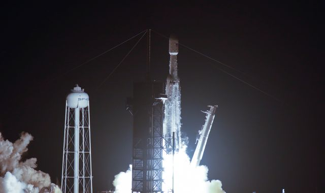 SpaceX launches Falcon Heavy rocket carrying the ashes of 152 people