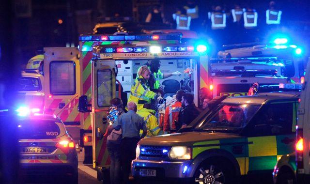 'Chaos and confusion' hindered ambulance response to London Bridge attack
