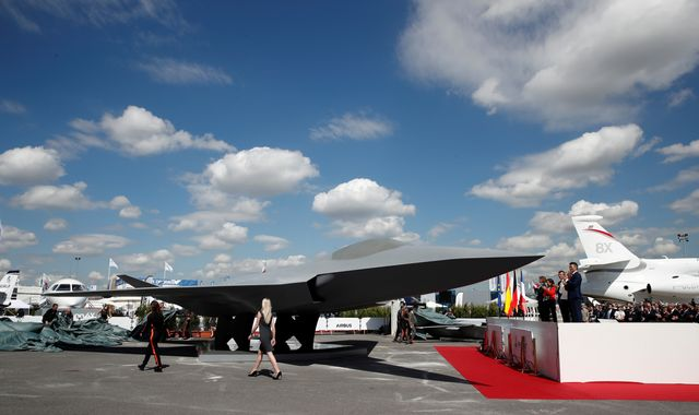 Paris Air Show: Europe to build rival to UK's next-generation fighter jet