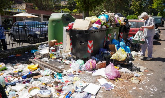 'We've become third world' – Rome runs out of space for its rubbish