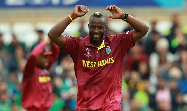 West Indies play Bangladesh in the Cricket World Cup on Monday