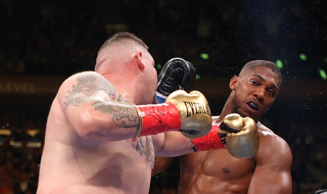 Ruiz Jr vs Joshua II: Anthony Joshua insists defeat was caused by 'a punch sent by the gods'