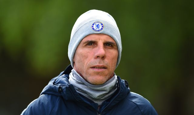 Gianfranco Zola to leave Chelsea after contract expires