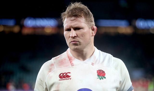 England omit Dylan Hartley, Danny Care and Chris Robshaw from World Cup training squad