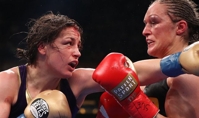 Katie Taylor could face Delfine Persoon in rematch on Dillian Whyte bill, confirms Eddie Hearn