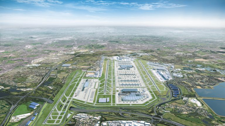 Can use only with pic credit to Heathrow. This is CGI.