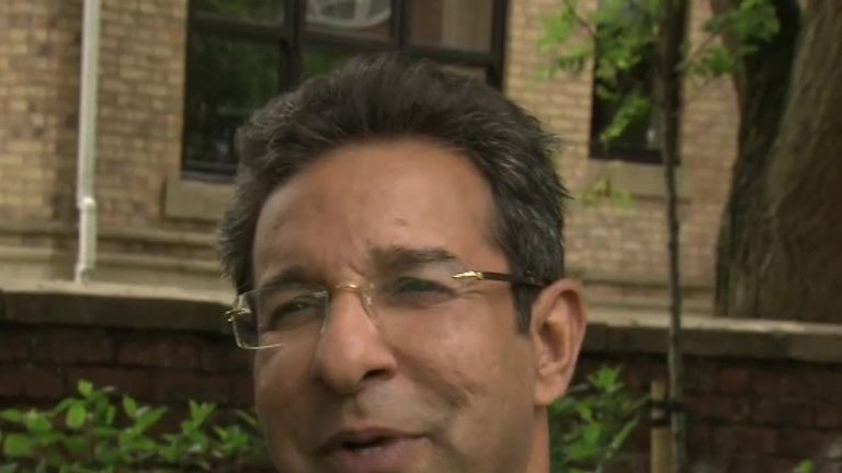 "Wasim Akram: Pakistan and India fans should ""enjoy the pressure"""