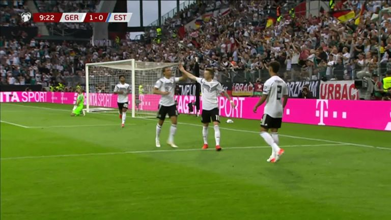 Euro 2020 Qualifying round-up: France beat Andorra, Germany put eight past Estonia | Football News |