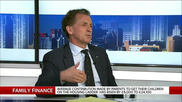 Legal & General chief executive Nigel Wilson talks to Sky's Ian King