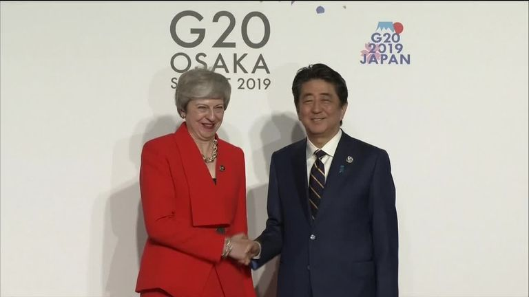 G20: PM says Russia must 'go down different path'