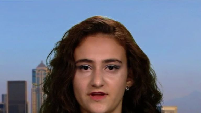 Climate activist and founder of youth climate group Zero Hour, spoke to Sky News about the fight to save her generation's future