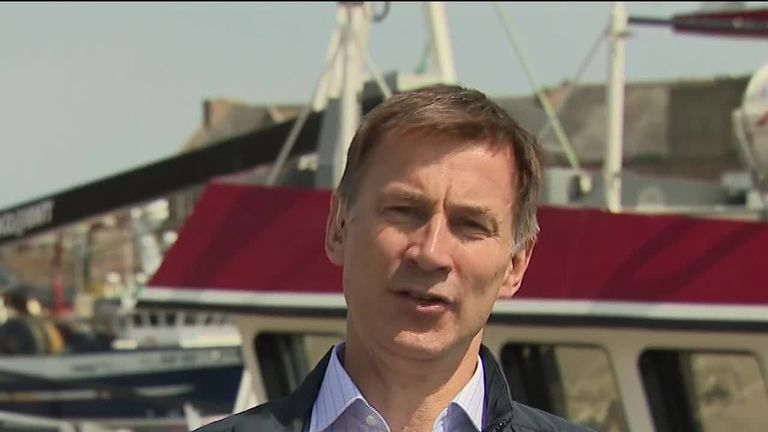 Jeremy Hunt: 'This won't be a PM that will last'