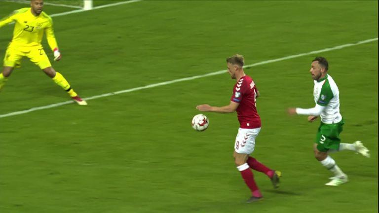 """Résultat de recherche d'images pour """"Denmark 1:1 Ireland"""""""