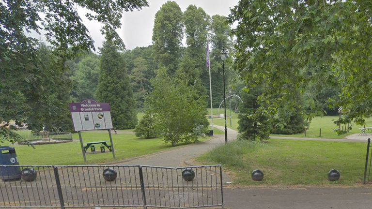 Grenfell Park in Maidenhead, Berkshire