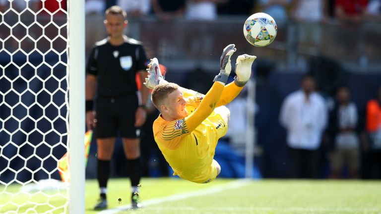 Drmic missed the decisive spot-kick as Switzerland lost to England on penalties in the Nations League third-place play-off match