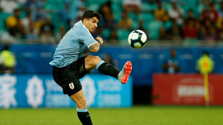 Uruguay out of Copa America, as Suarez misses