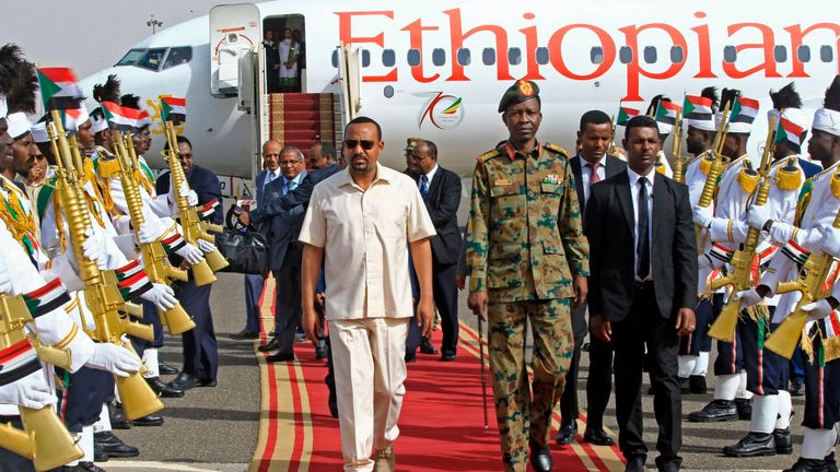 Sudan opposition leader 'held' after meeting Ethiopian PM