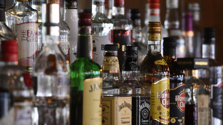 Alcohol sales in Scotland fell to the lowest level for almost 25 years