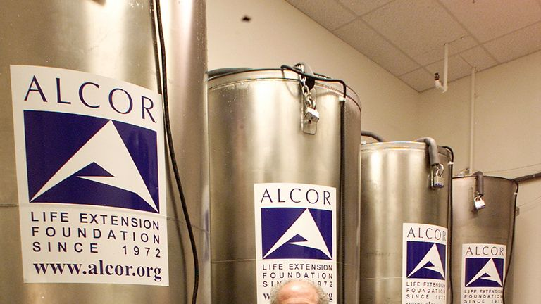 Alcor specialises in cryonics which aims to preserve the dead