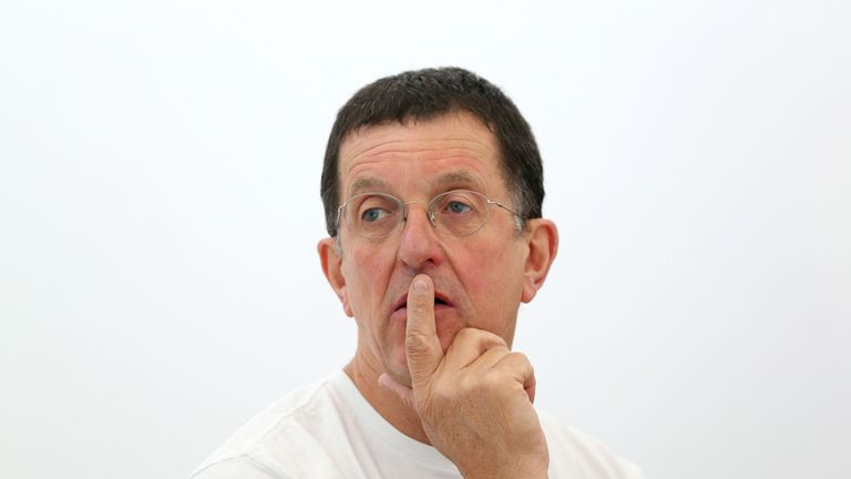 Anthony Gormley is a British Turner Prize winning artist