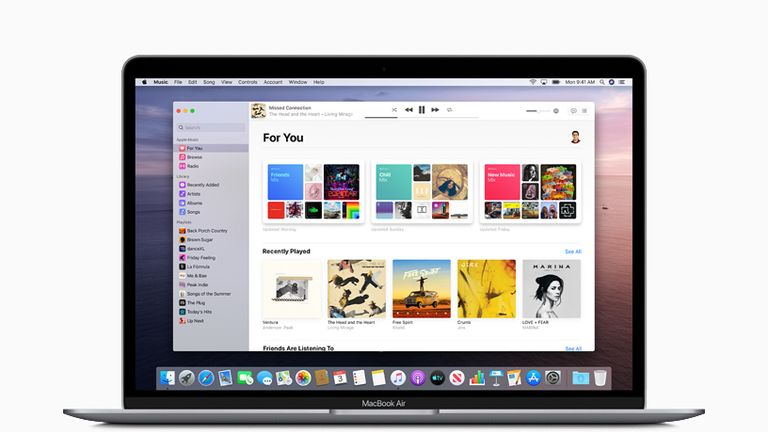 Apple is splitting iTunes into three apps for music, podcasts and film and shows. Pic: Apple