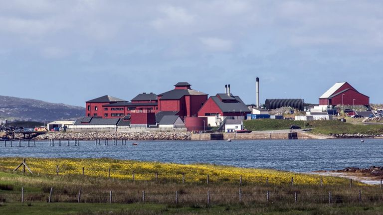 BASF's UK operations include a factory producing omega-3 fatty acids at Callanish on the Isle of Lewis