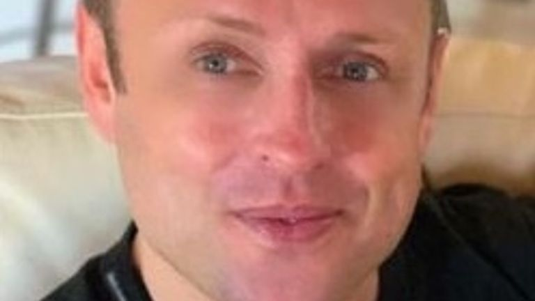 Adrian Murphy, 43, was found dead in a block of flats in Battersea. Pic: Met Police