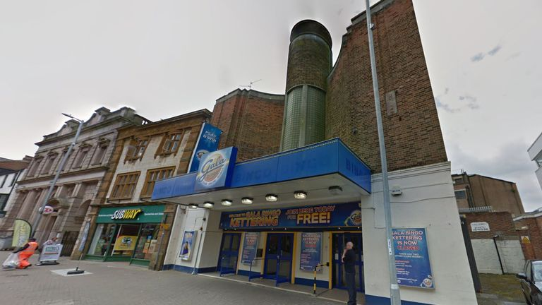 Officers discovered the 'full house' at a former bingo hall