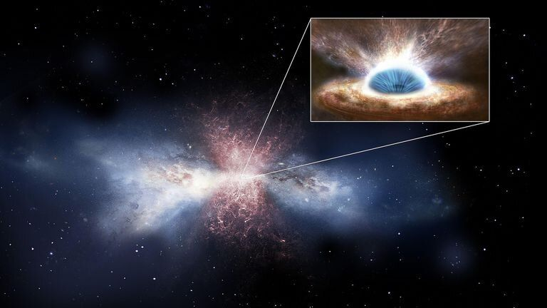 Supermassive black hole Pic: IAC