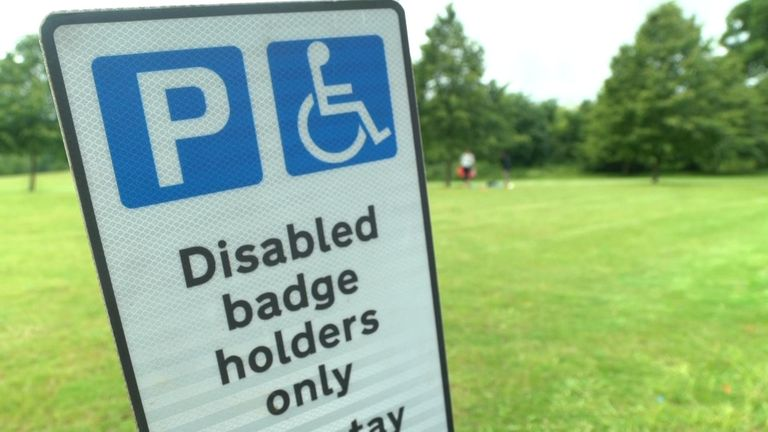 Blue badges will be offered to people with 'invisible' disabilities