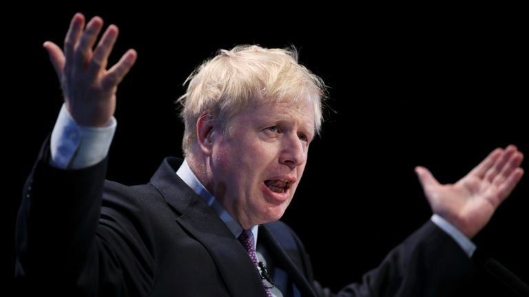 Boris Johnson, a leadership candidate