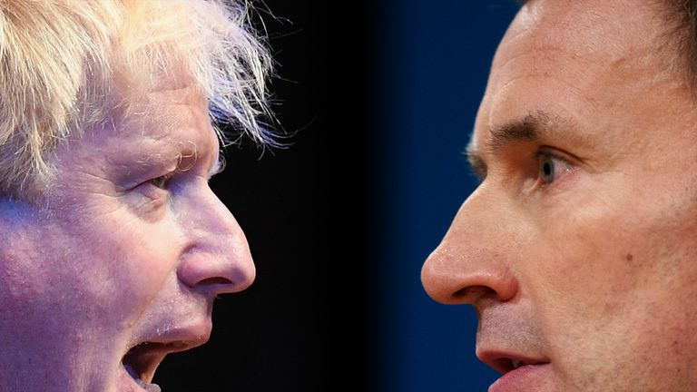 Jeremy Hunt has called for Boris Johnson to get involved in more TV debates
