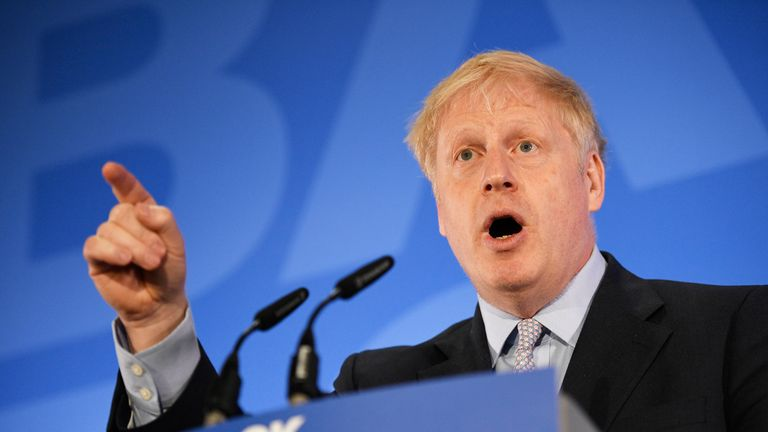 Boris Johnson is the frontrunner in the Tory leadership contest.