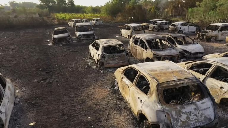 Fires Leave Behind Apocalyptic Scene