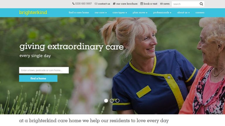 Brighterkind care homes web grab