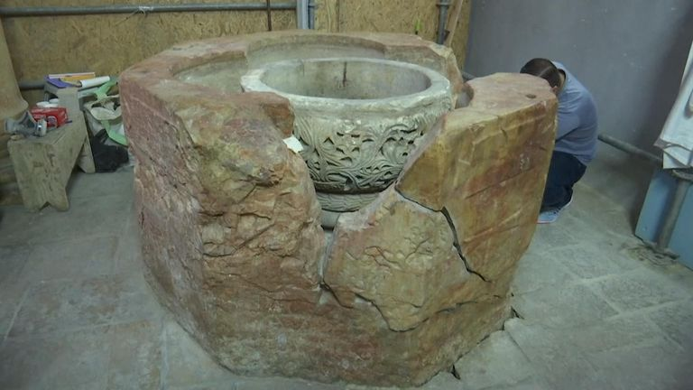 International experts are said to be set to visit the West Bank to examine the artefact