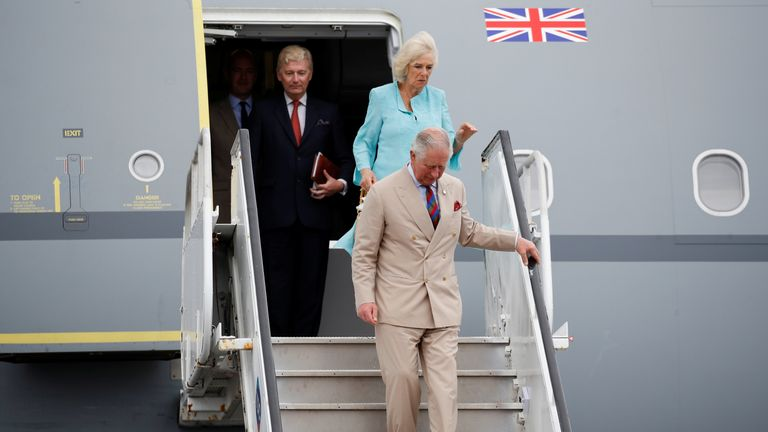 Travel related to an international trip by Charles and Camilla cost more than £400,000