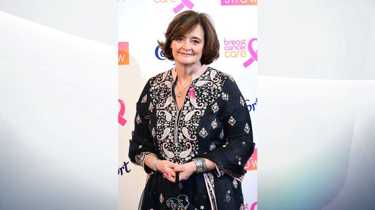 Cherie Blair, a barrister, will serve as executive producer on The Rock Pile