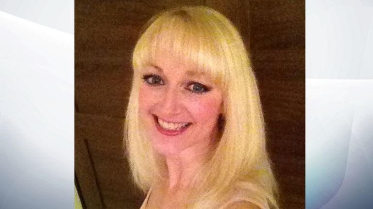 Cheryl Hooper was shot dead outside her home in Newport last year. Pic: Facebook