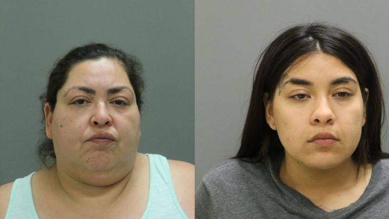Clarisa Figueroa, 46 (left) and her 24-year-old daughter Desiree Figueroa (right) are charged with murder in the death of the baby's mother, 19-year-old Marlen Ochoa-Lopez. It's expected they will now be charged with murder in the infant's death