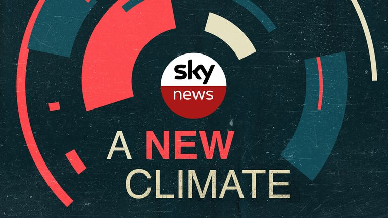 A New Climate: A series of special podcasts from Sky News Daily