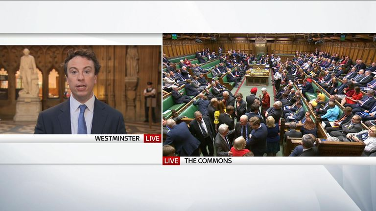 MPs have voted on a Labour motion to seize control of the Commons agenda in order to block a no-deal Brexit