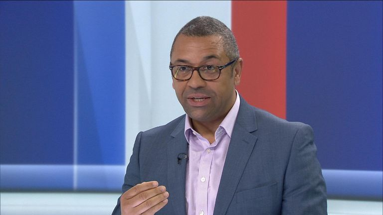 Brexit Minister and former Tory leadership candidate James Cleverly MP
