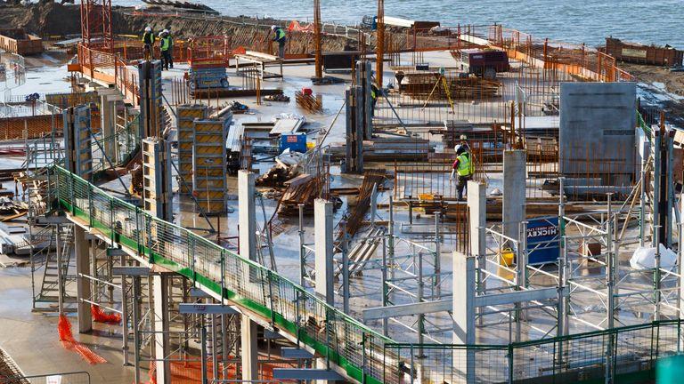 Crest Nicholson's Centenary Quay development in Woolston, Southampton, Hampshire 2014.