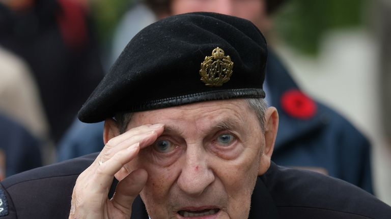 Sidney Cole was among the Canadian contingent on D-Day