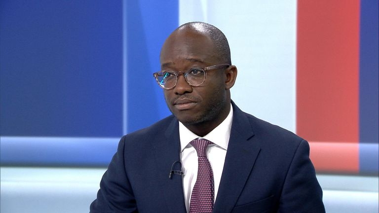 Former minister, Sam Gyimah on Ridge on Sunday.