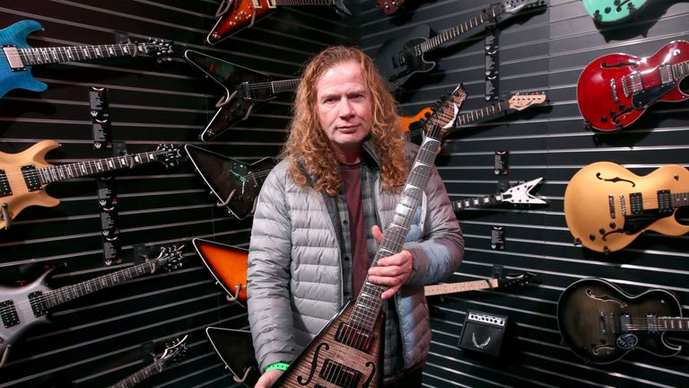 Megadeth's Dave Mustaine has throat cancer