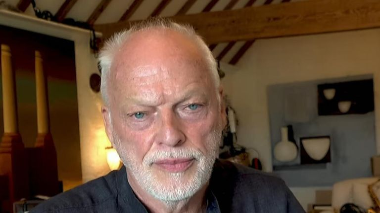 Pink Floyd guitar legend David Gilmour will be donating proceeds from the auction of his guitars to climate change charity