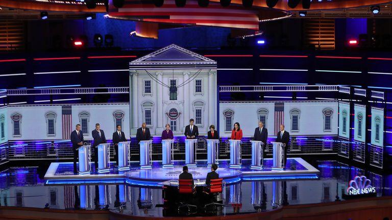 10 Democrat candidates