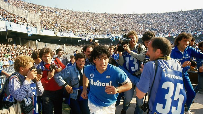 Diego Maradona. Picture courtesy of Altitude Films